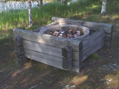 Bygga grillplats utomhus